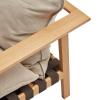 drewniana rama fotela brick NAP