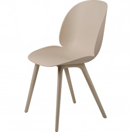 Beżowe krzesło Beetle Outdoor Gubi