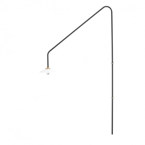 Czarna lampa ścienna n°4 Valerie Objects