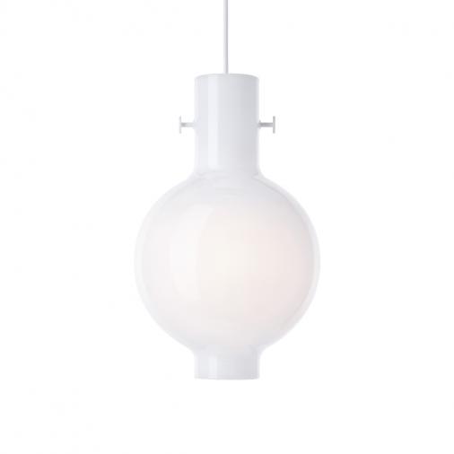 Lampa wisząca Novecento Ø20 Serax z mlecznego szkła