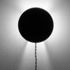 Metalowa lampa ścienna Scudo Black Serax