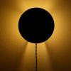 okrągła lampa ścienna Scudo Serax w kolorze czarnym
