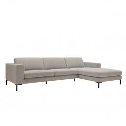 Ze stałym poszyciem w tkaninie sofa Domino Sits