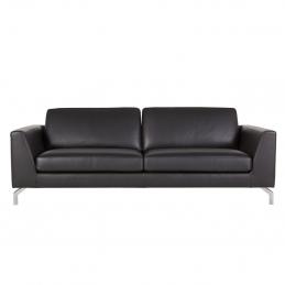 Sofa Ohio Sits tapicerowana skórą