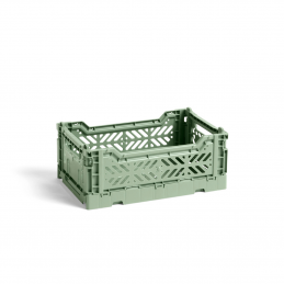 Skrzynka Colour Crate S dusty green HAY