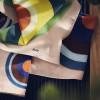 Poszetki i apaszki Cacko Marii Tyniec w ludowe wzory