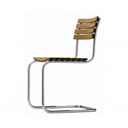 Wykonane z drewna iroko krzesło S 40 Thonet