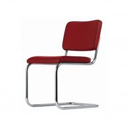 Czerwone krzesło S 32 PV Thonet