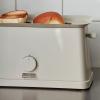Szary toster z pokrętłem Sowden HAY
