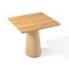 Drewniany stół P.O.V. 460 TON z kwadratowym blatem