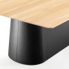 Czarna podstawa stołu P.O.V.  467 TON