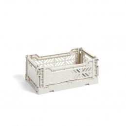Skrzynka S Light Grey Crate HAY