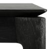 Detale stołu rozkładanego Oak Bok Black