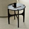 aranżacja mahoniowego stolika kawowego PI Ethnicraft