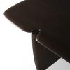 Drewniany stolik kawowy PI Ethnicraft - detale blatu