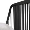 Szczebelki łóżka Spindle od Ethnicraft w kolorze czarnym