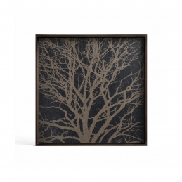 Taca dekoracyjna Black Tree S Ethnicraft