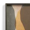Malowane szkło tacy Cinnamon Overlapping Dots Glass S Ethnicraft