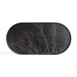 Taca dekoracyjna Black Tree M Ethnicraft