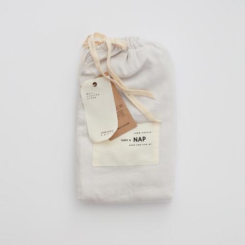 Poszewka na poduszkę Simples Off White take a NAP