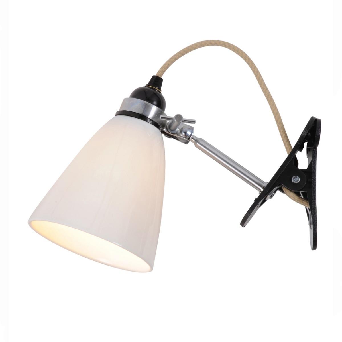 Lampa ścienna Hector Medium Dome Clip BTC