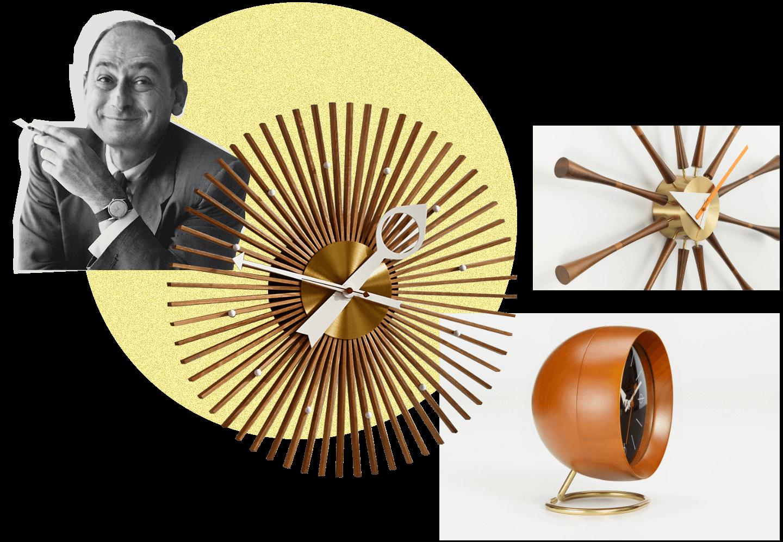 Futurystyczne zegary Nelsona