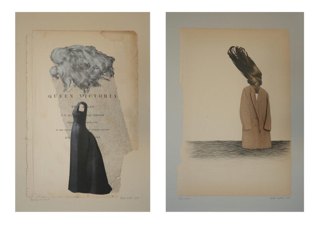 Anna Bimer - kolaże Art & Craft