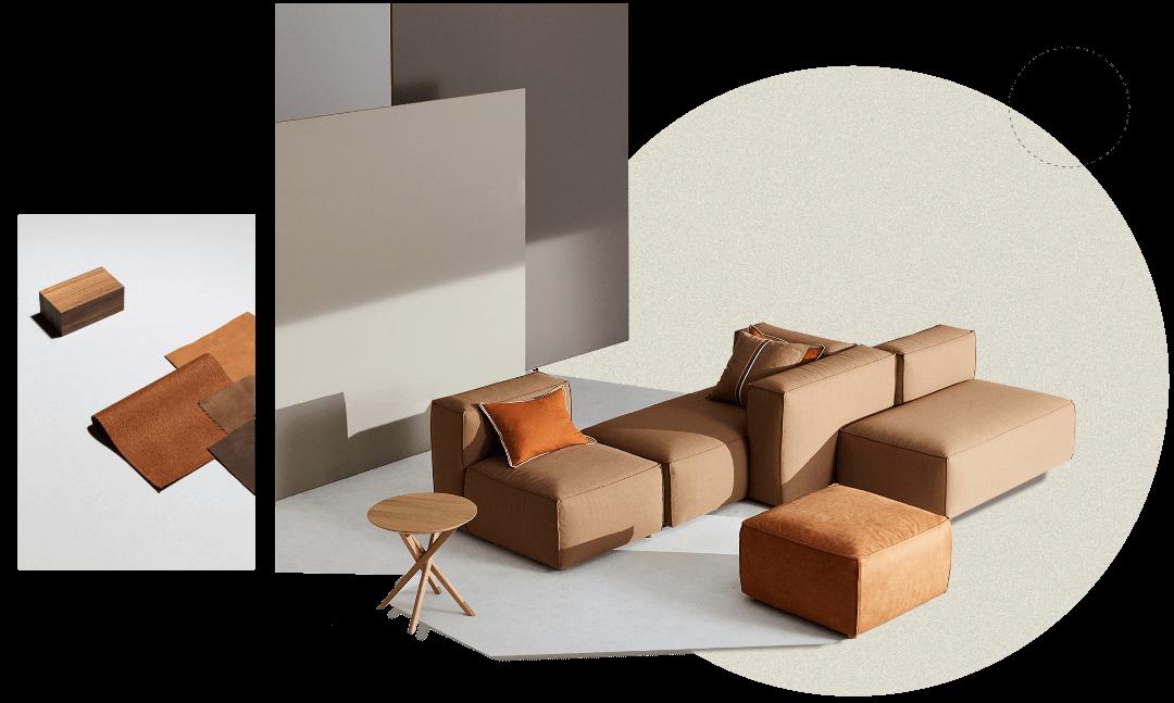 Sofa modułowa Dune NAP