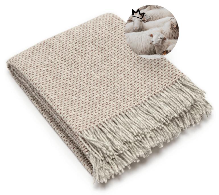 Tkaniny na zimę - wełna