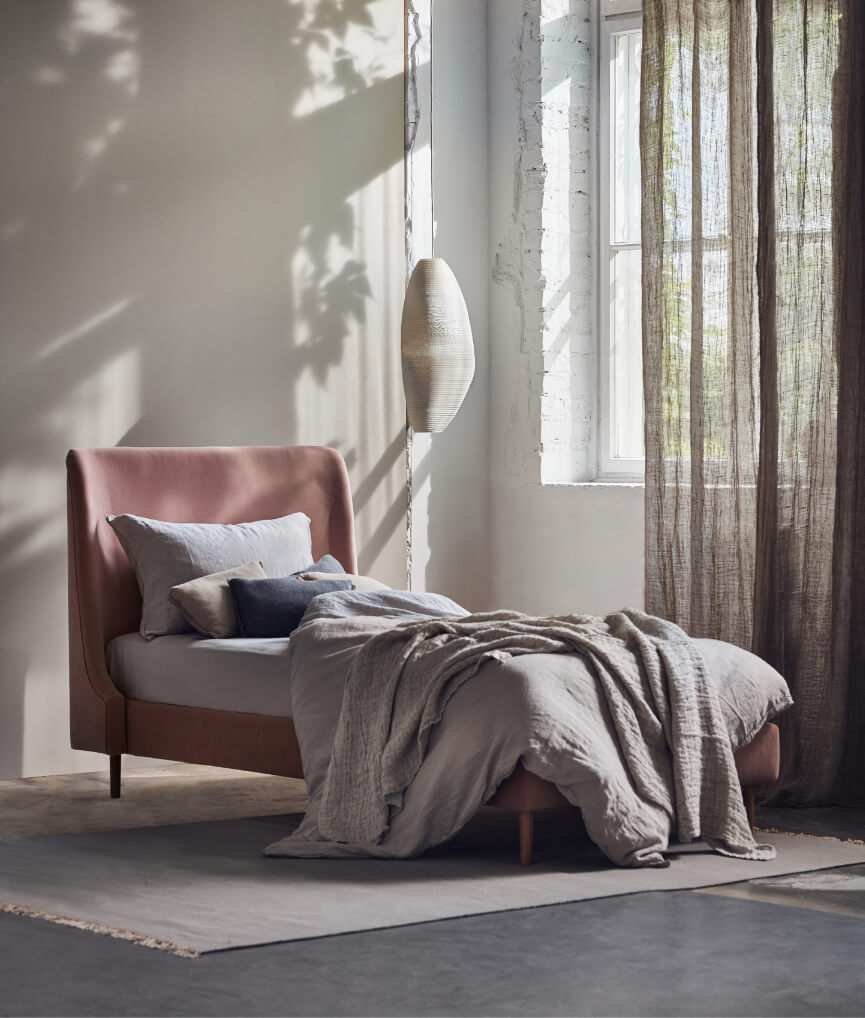 Łóżko tapicerowane Sofia NAP