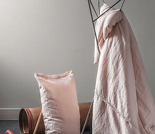 Tkaniny w sypialni